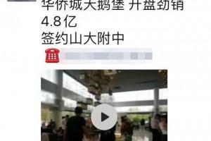 太原迎来抢房热潮华裔城一天出售4亿多你信任么