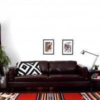 日韩北欧小户型布艺沙发椅简约双单三人位办公室客厅漆光沙发新款