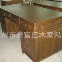 厂家批发实木环保仿古 简约办公桌