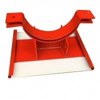 齐鑫DN300 滑动管道支座 管道支座厂家 管道滑动支架